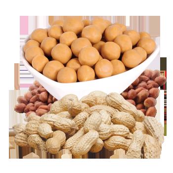 Peanut Soy Puffs